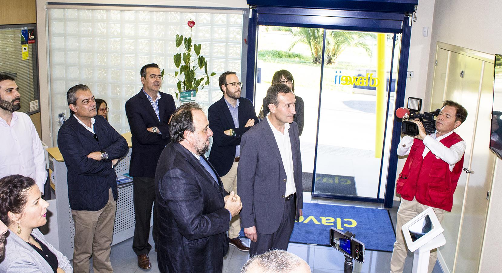 Inauguracion Exposicion Tecnologica CLAVEi