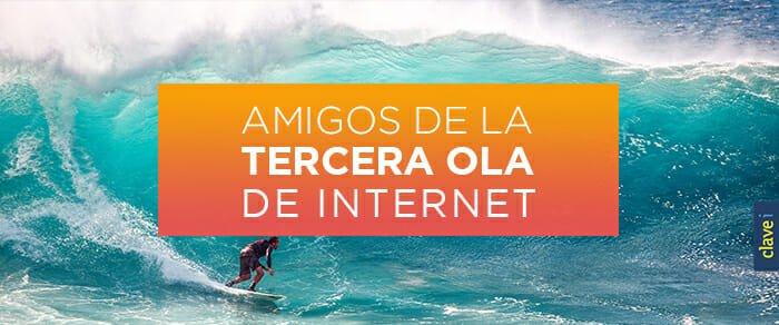 Amigos de la tercera ola de Internet