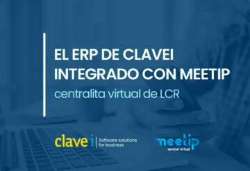 El ERP de CLAVEi homologado para operar con la Centralita Virtual MeetIP de LCR