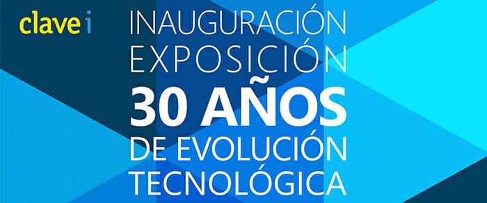 Inauguración de nuestra exposición 30 años de evolución tecnológica por D. Carlos González Serna, Alcalde de Elche.