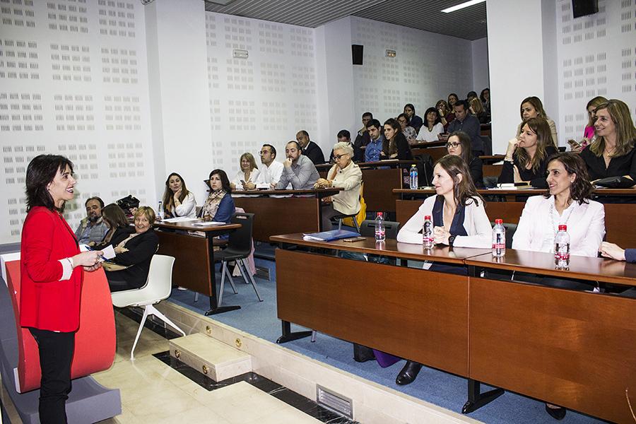 Isabel Bonmatí en el Día de la Mujer Trabajadora