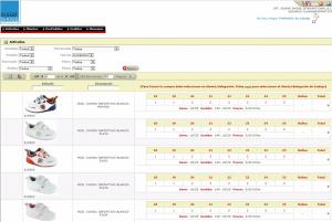Imagen del Portal de Comercio Electrónico de Sugar Shoes, cliente de Clavei