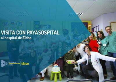 Un día diferente en el Hospital de Elche con Payasospital