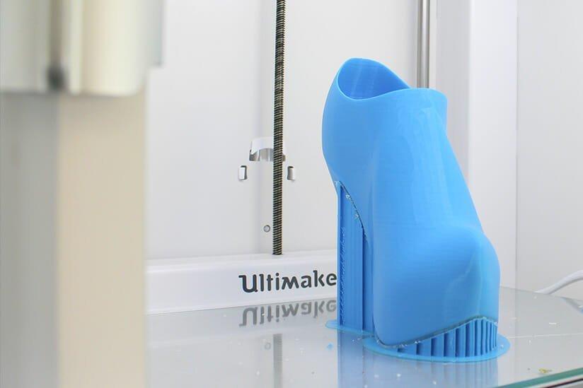 Impresión 3D aplicada a la fabricación de calzado y anexas
