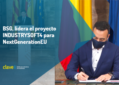 BSG, lidera el proyecto INDUSTRYSOFT4 para los fondos NextGenerationEU
