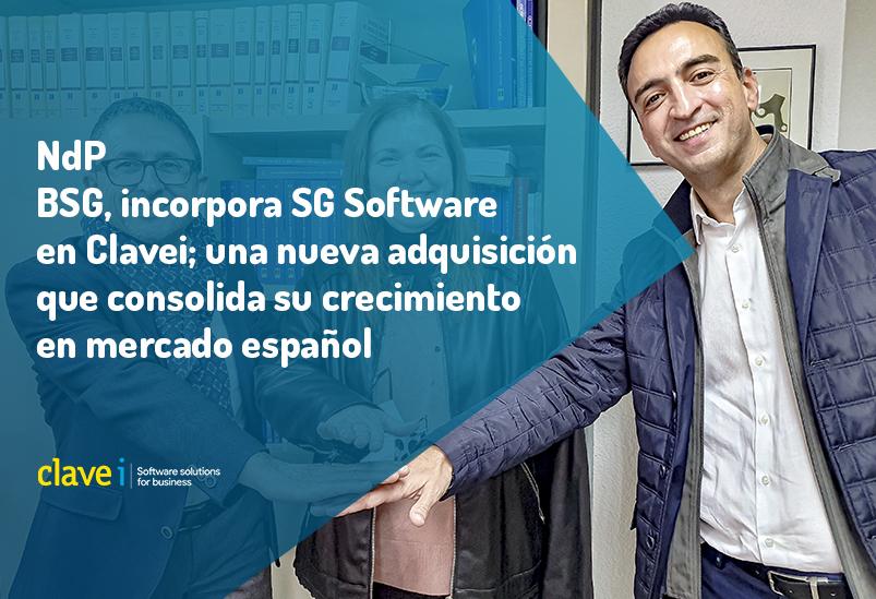 business-software-group-incorpora-sg-software-sl-en-clavei-una-nueva-adquisicion-que-consolida-su-crecimiento-en-mercado-español