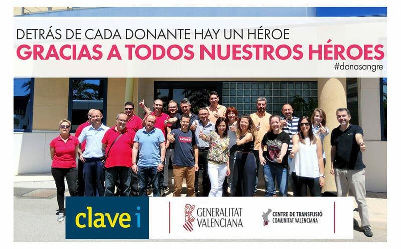 Clavei Responsabilidad Social Corporativa Donacion Sangre