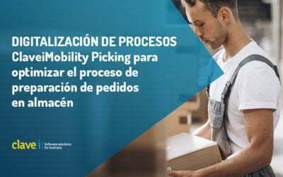 Optimiza tu proceso de preparación de pedidos con ClaveiMobility Picking