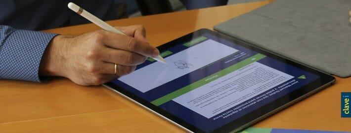 ClaveiMobility SAT ahora incluye recogida de firma biometrica gracias al acuerdo con ViDSigner
