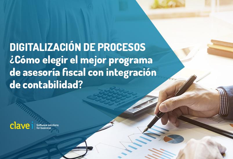 Programas de asesoría fiscal y contable: Cómo elegir el mejor para tu negocio