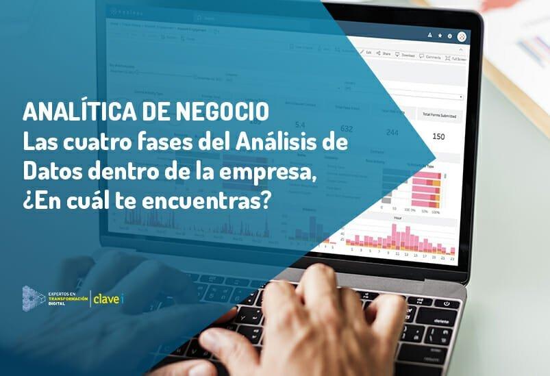 Las 4 fases del análisis de datos en la empresa, ¿En cuál estás?