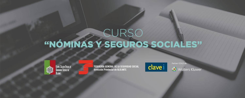 Curso Nóminas y Seguros Sociales Alicante