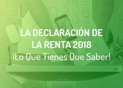 Renta 2018 ¿Tengo Que Presentar La Declaración de La Renta? Y, ¿Cuándo?