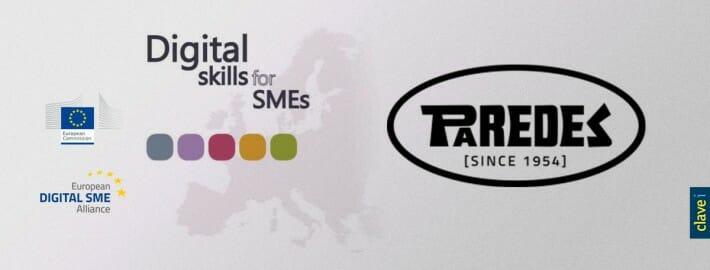 Paredes, caso de éxito digital Europeo con su partner tecnológico CLAVEi