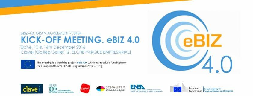 COMIENZA EL PROYECTO EUROPEO eBIZ-4.0