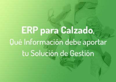 ¿Qué Información debe darte un ERP si eres una Empresa de Producción de Calzado?