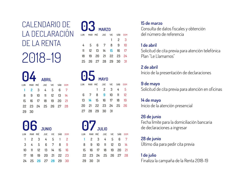fechas-clave-renta-2018-2019