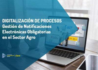 Gestión de Notificaciones Electrónicas Obligatorias en el sector Agro