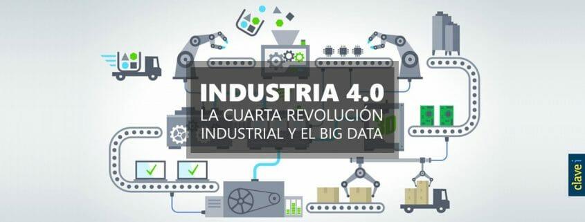 Industria 4.0 y la cuarta revolución industrial