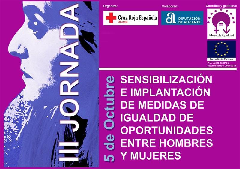 Jornada de sensibilización e implantación de medidas de igualdad de oportunidades entre hombres y mujeres