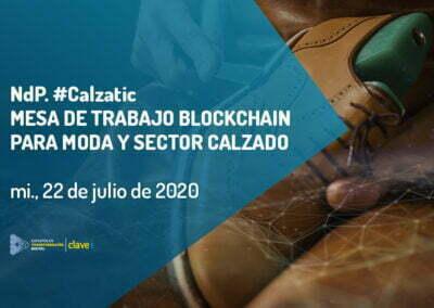 Nota de Prensa. MESA ONLINE BLOCKCHAIN CalzaTIC