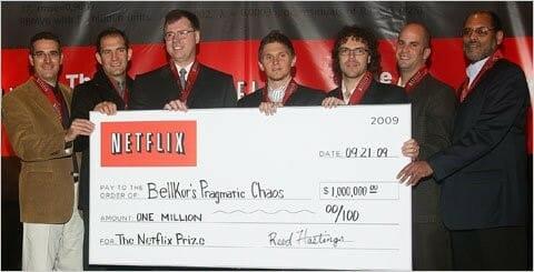 netflix competicion