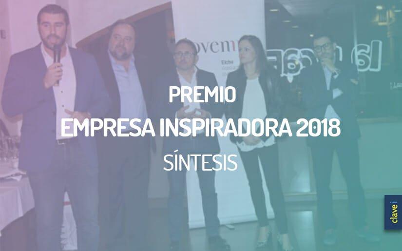 Síntesis Premio Empresa Inspiradora 2018 por Jovempa
