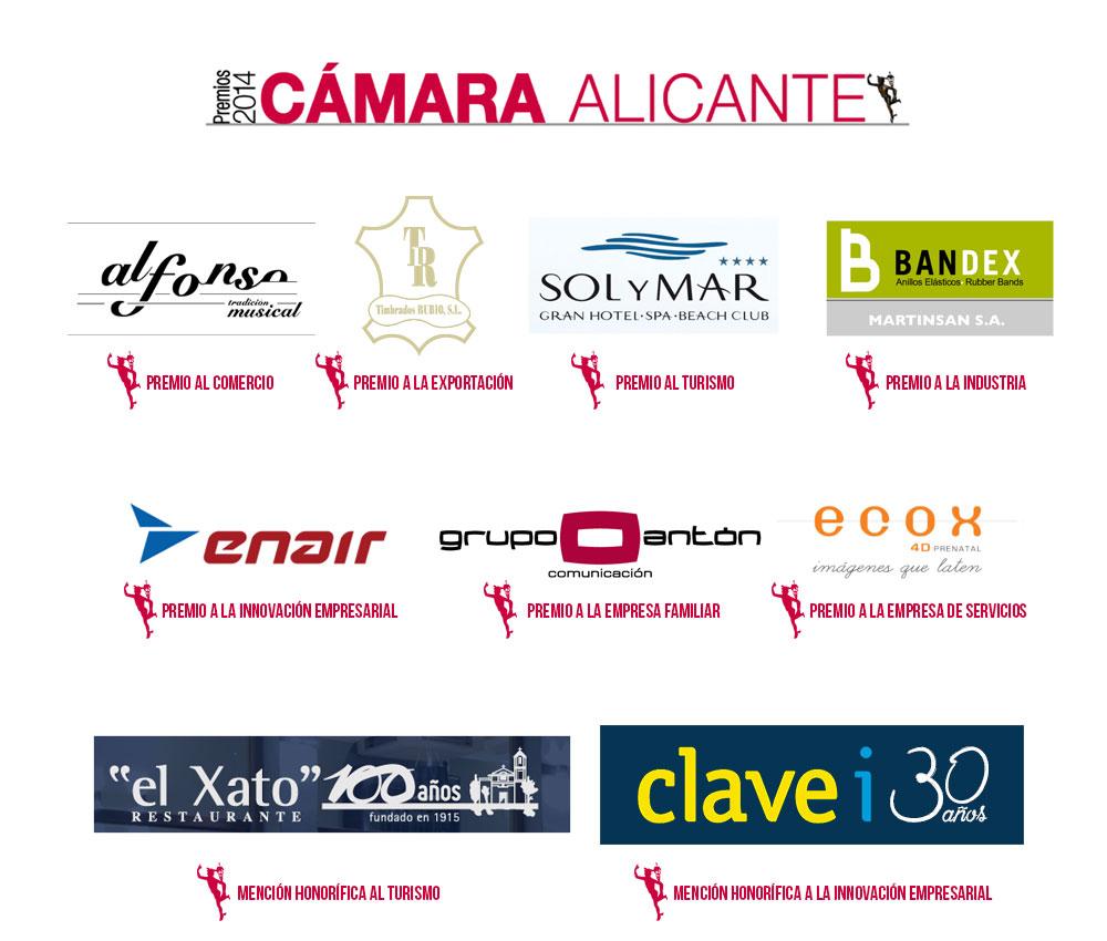 Premiados Cámara Alicante