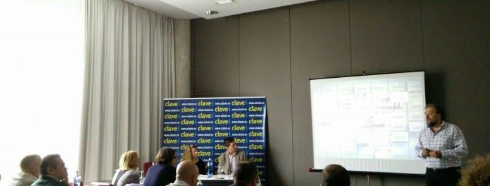 Crónica de la presentación de METRICSBI y ClaveiNova