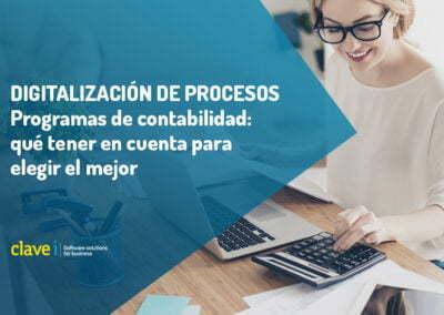 Programas de contabilidad: qué tener en cuenta para elegir el mejor