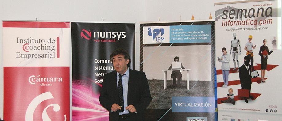 Alejandro Rabasa en la semana informática 2014
