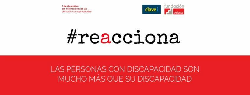 Día Internacional de la Discapacidad | #reacciona contra el bullying, la sobreprotección, la discriminación y el mobbing