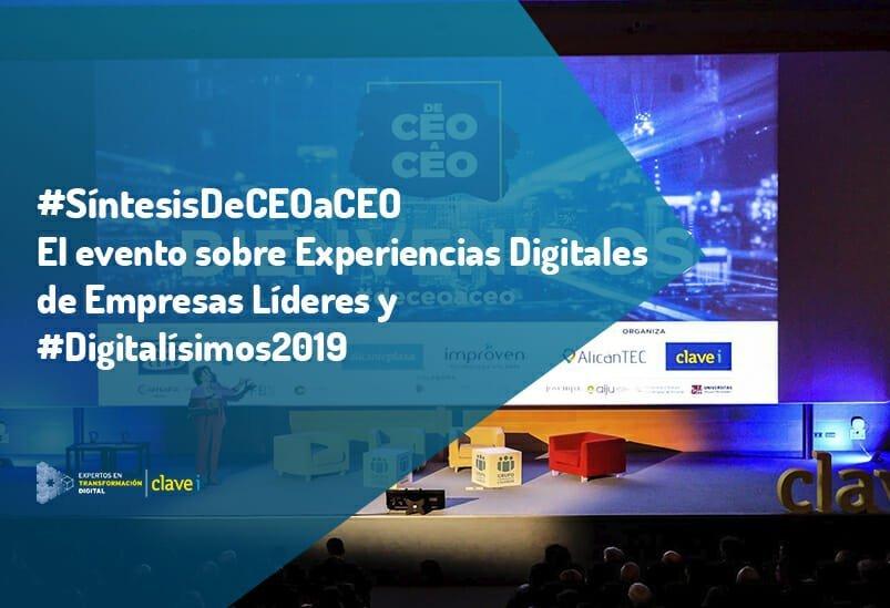 Síntesis #DeCEOaCEO: Experiencias Digitales de Empresas Líderes