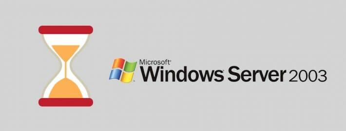 El soporte de Windows Server 2003 llega a su fin