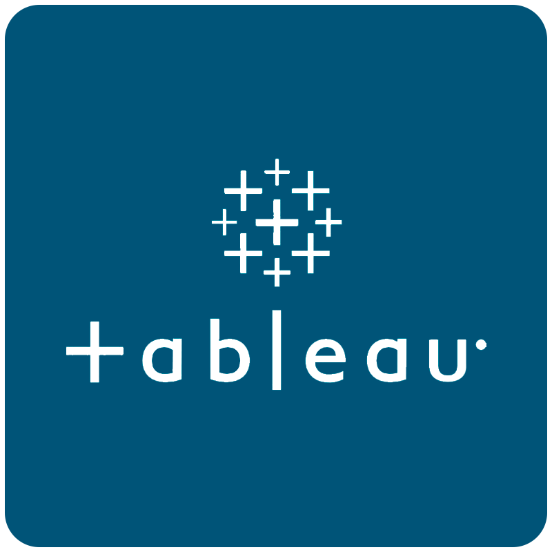 Tableau Logo Blue Bg