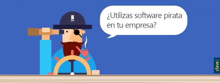 ¿Utilizas software pirata en tu empresa?