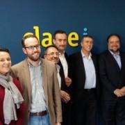 Visita de Rafa Climent y Carlos González a CLAVEi